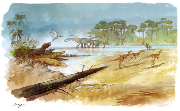 Depuis 2010, le dessinateur Mazan suit les fouilles sur le site d'Angeac-Charente.