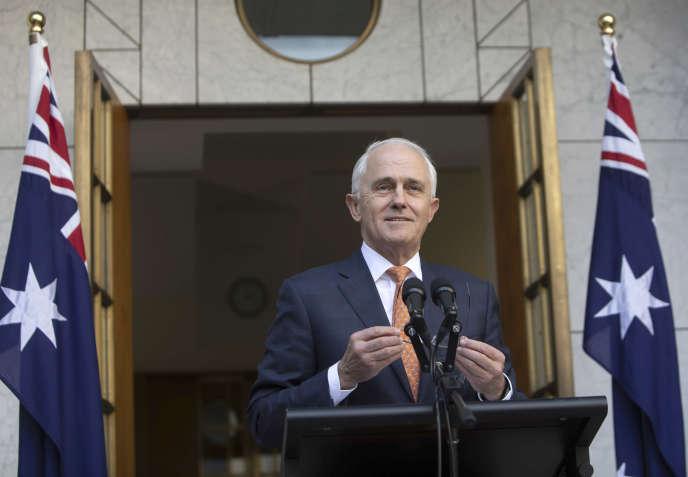 Le premier ministre sortant, Malcolm Turnbull, a annoncé vouloir se retirer de la politique.