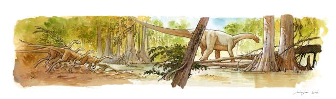 Les animaux les mieux conservés à Angeac-Charente pourraient livrer de précieux indices sur les mouvements des dinosaures il y a 140 millions d'années, alors que les continents, tel que nous les connaissons aujourd'hui, n'étaient pas encore formés.