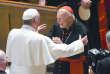 Le pape François etTheodore McCarrick à Washington, le 23 septembre 2015.