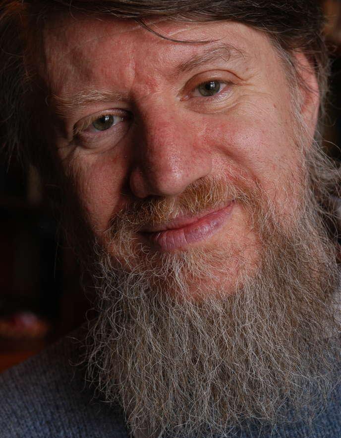 L'écrivain Vladimir Charov, à Moscou, en 2005.