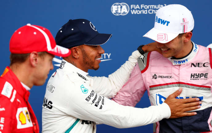 Lewis Hamilton et Sebastian Vettel ont pris la défense d'Esteban Ocon. Le 25 août, le pilote Force India s'est hissé à la 3e place lors des qualifications du Grand Prix de Belgique.