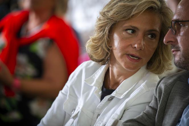 Valérie Pécresse à Brive-La-Gaillarde, en Corrèze, le 24 août.