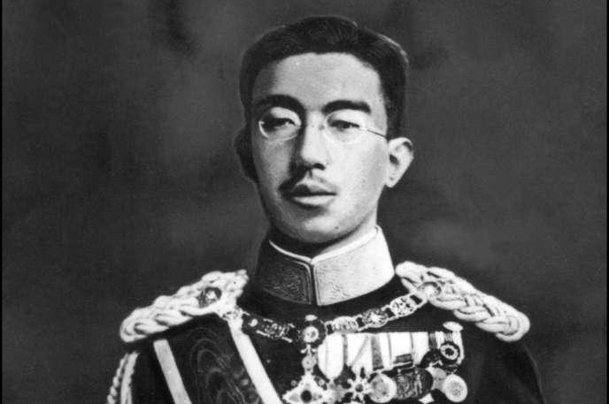 Hirohito à Tokyo, en 1942.