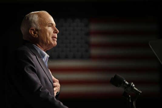 John McCain en octobre 2008.