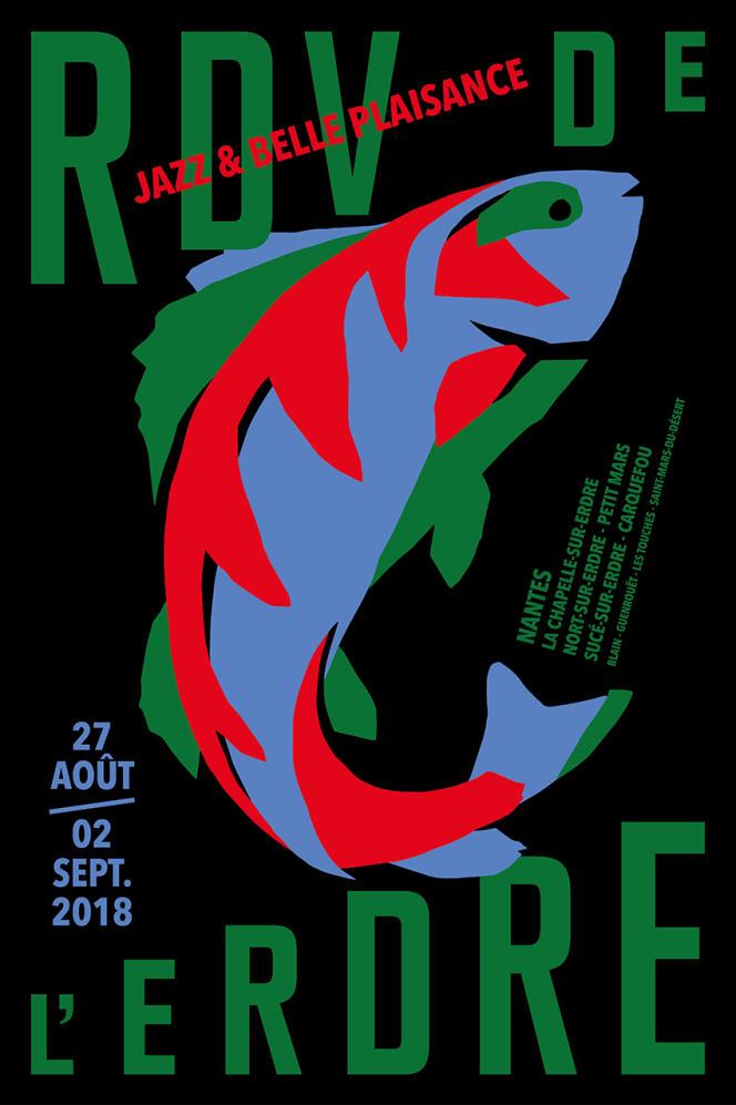 Affiche du festival Les Rendez-vous de L'Erdre.