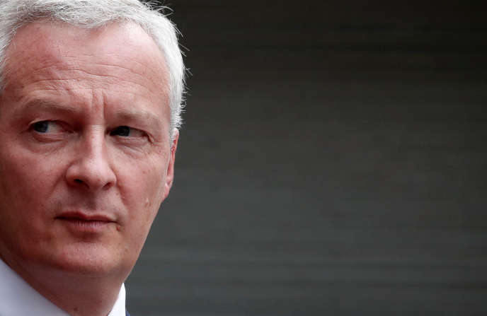 Le ministre de l'économie, Bruno Le Maire – ici le 27 août 2018 –, s'oppose à une nouvelle tranche d'imposition avec un argument pour le moins douteux.