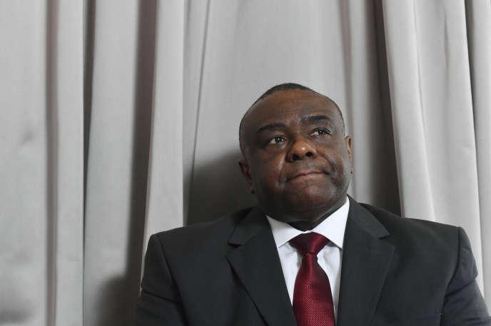 L'ancien chef de guerre congolais Jean-Pierre Bemba, ici à Bruxelles le 24 juillet 2018, conteste l'invalidation de sa candidature à l'élection présidentielle de décembre par la Commision électorale nationale et indépendante.