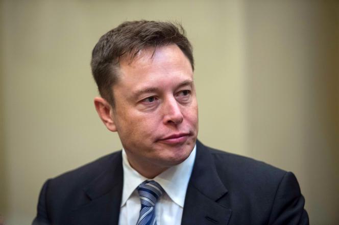 Le patron de Tesla, Elon Musk, à Washington, en janvier 2017.
