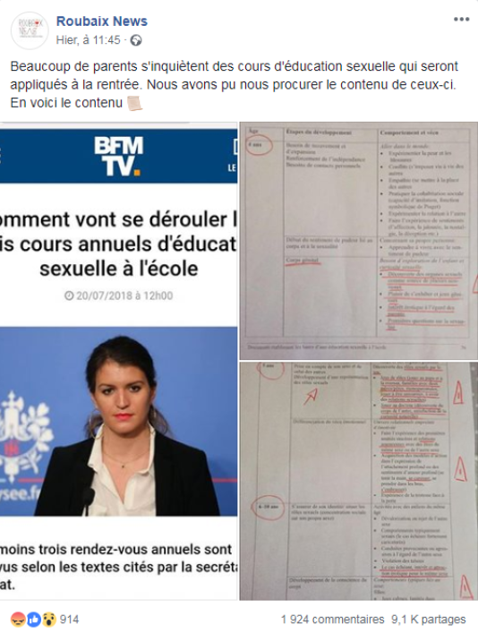 annonce rencontre adulte facebook adulte français