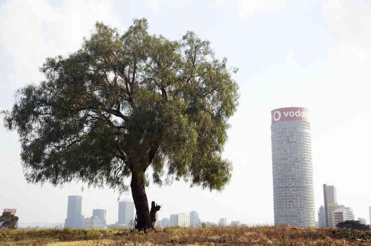 Dans le quartier de Berea, la tour Ponte City de 54 étages est un symbole du temps de l'apartheid, qui domine la ville depuis 1975.