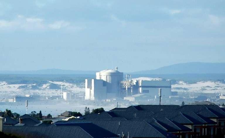 La centrale nucléaire de Koeberg, en Afrique du Sud, en 2007.