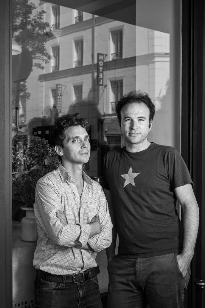 Nathaniel Doboin et Thomas Teffri-Chambelland, créateurs de Chambelland, une boulangerie sans gluten à Paris.