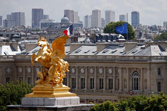 Le Quai d'Orsay, à Paris.