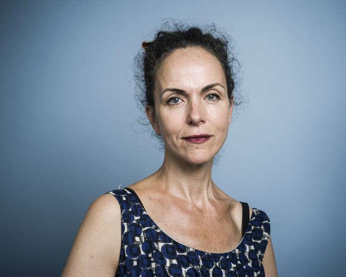 L'écrivaine Agnès Desarthe, en juillet 2015.
