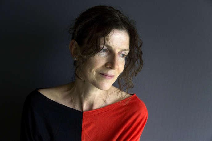 L'écrivaine Emmanuelle Bayamack-Tam, en mai 2018.