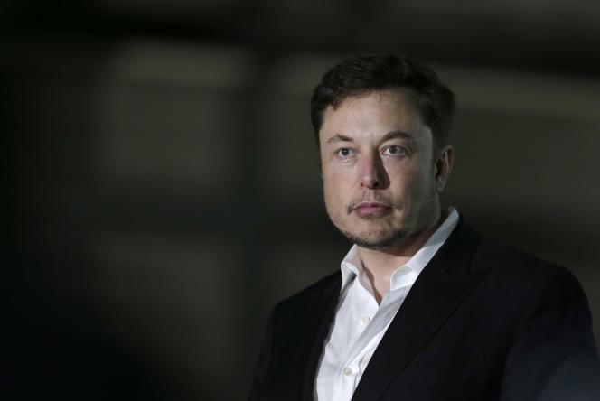 Le fondateur du groupe Tesla, Elon Musk, lors d'une conférence de presse à Chicago, le 24 juin.