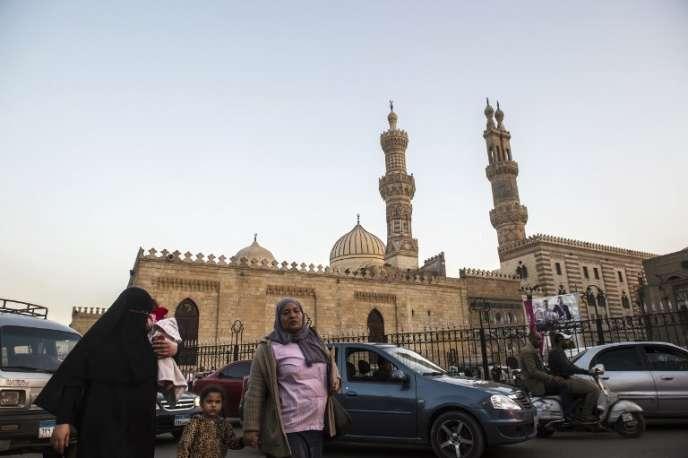 La mosquée Al-Azhar, au Caire, en mars 2018.