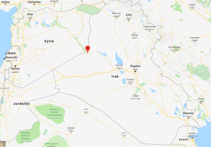 Situation de la ville d'Al-Qaïm (Irak)