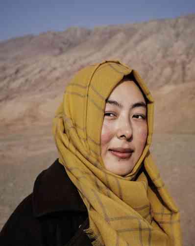 Su Xiaolan, 23ans, habite à Turpan, dans la région autonome ouïgoure du Xinjiang. Pékin entend désenclaver l'ouest de sonterritoire, peuplé de minoritésethniques que lerégime veut mieux contrôler.