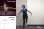 Une vidéo publiée montre les «deepfakes», résultats du travail de Caroline Chan et ses trois collègues grâce à l'intelligence artificielle, 22 août 2018.