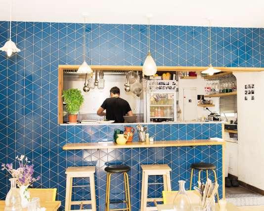 Le restaurant Simone et Paulette, à Arles.
