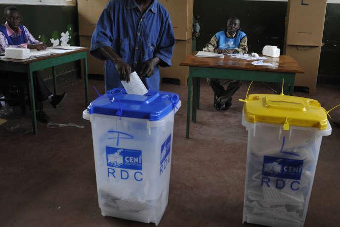 Vote en République démocratique du Congo en 2011.
