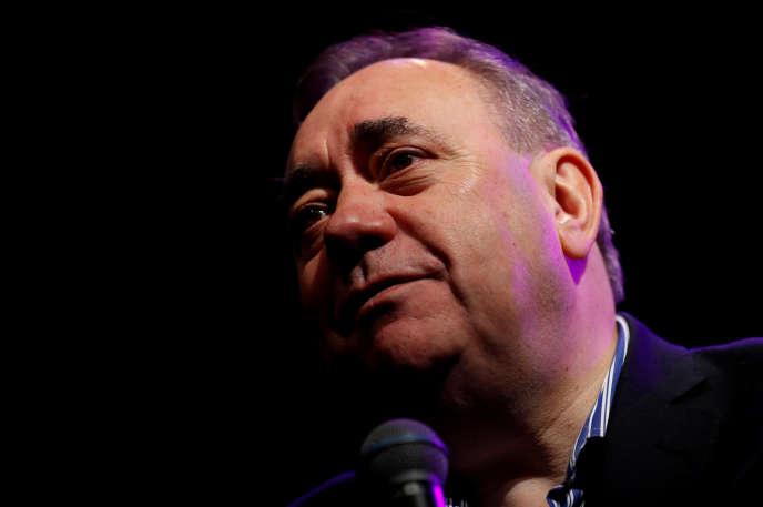 Alex Salmond à Edimbourg, le 12 août.