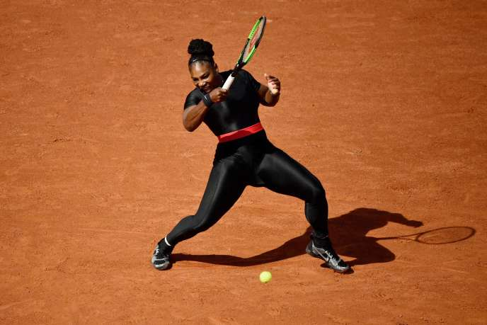 L'Américaine Serena Williams, sur le court de Roland-Garros, le 29 mai.