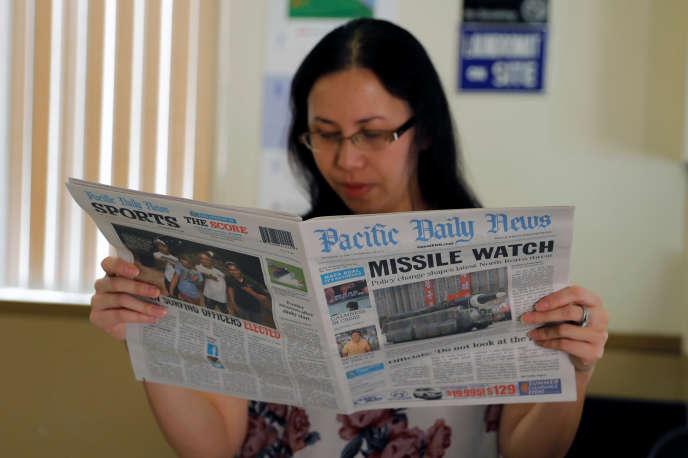 Le « Pacific Daily News» est édité sur l'île de Guam, territoire américain du Pacifique.
