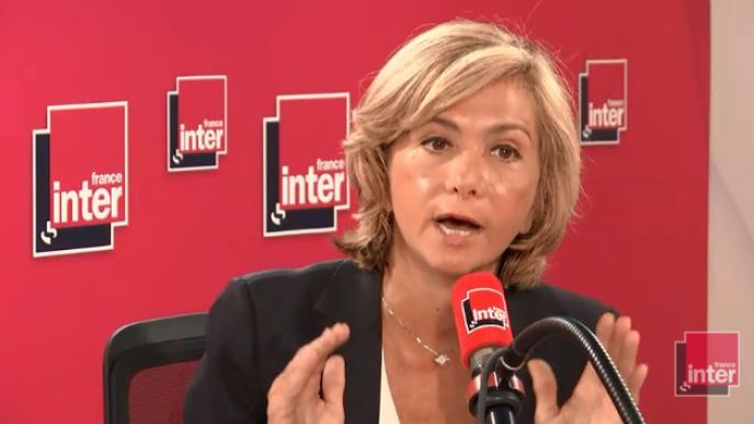 La présidente de la région Île-de-France, Valérie Pécresse.