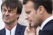 «Que des milliers d'acteurs du quotidien puissent se décourager après avoir entendu les propos tenus à la radio par M.Hulot, cela pose problème» (Nicolas Hulot et Emmanuel Macron dans les Côtes d'Armor, le 20 juin).