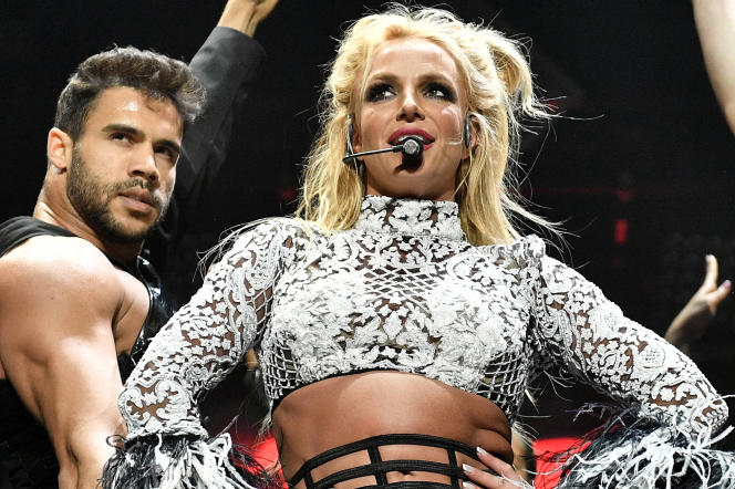 Britney Spears lors de son show «Piece of Me», présenté pendant quatre saisons, depuis la fin 2013, en résidence àLas Vegas(Nevada).