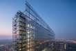 Le nouveau bâtiment de l'Office européen des brevets (OEB) à Rijswijk près de La Haye, conçu par les Ateliers Jean Nouvel et Dam & Partners Architecten.