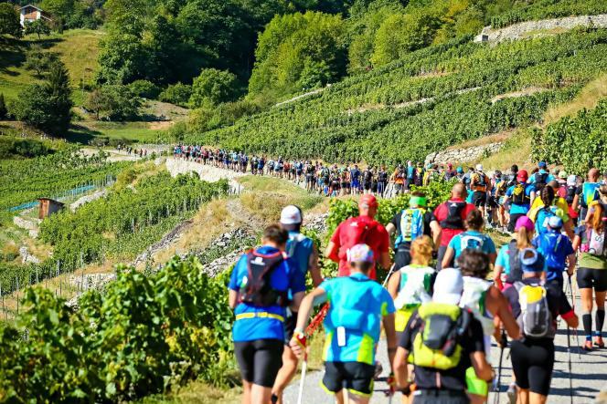 Le MCC, Martigny-Combe-Chamonix, lance l'édition 2018 de l'UTMB par un 40 km festif, créé pour les bénévoles et les locaux.