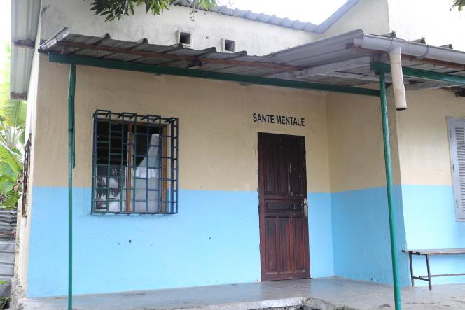 Le service de santé mentale de Mde, près de Moroni, aux Comores.