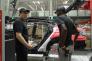 Elon Musk, le patron de Tesla, en visite dans l'usine de Fremont (Californie), le 15 août.