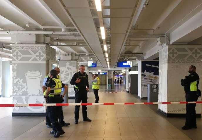 L'attaque a eu lieu dans la gare d'Amsterdam, vendredi 31 août.