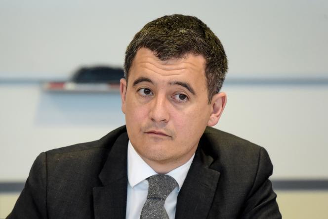 Le ministre de l'action et des comptes publics, Gérald Darmanin, en mars.