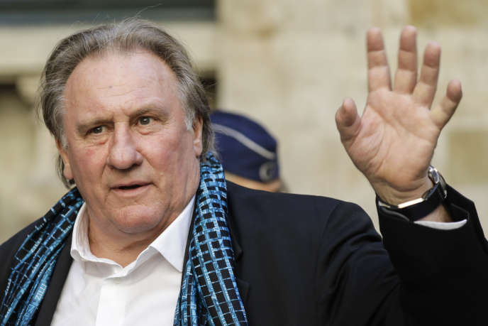 Gérard Depardieu, à Bruxelles, le 25 juin.