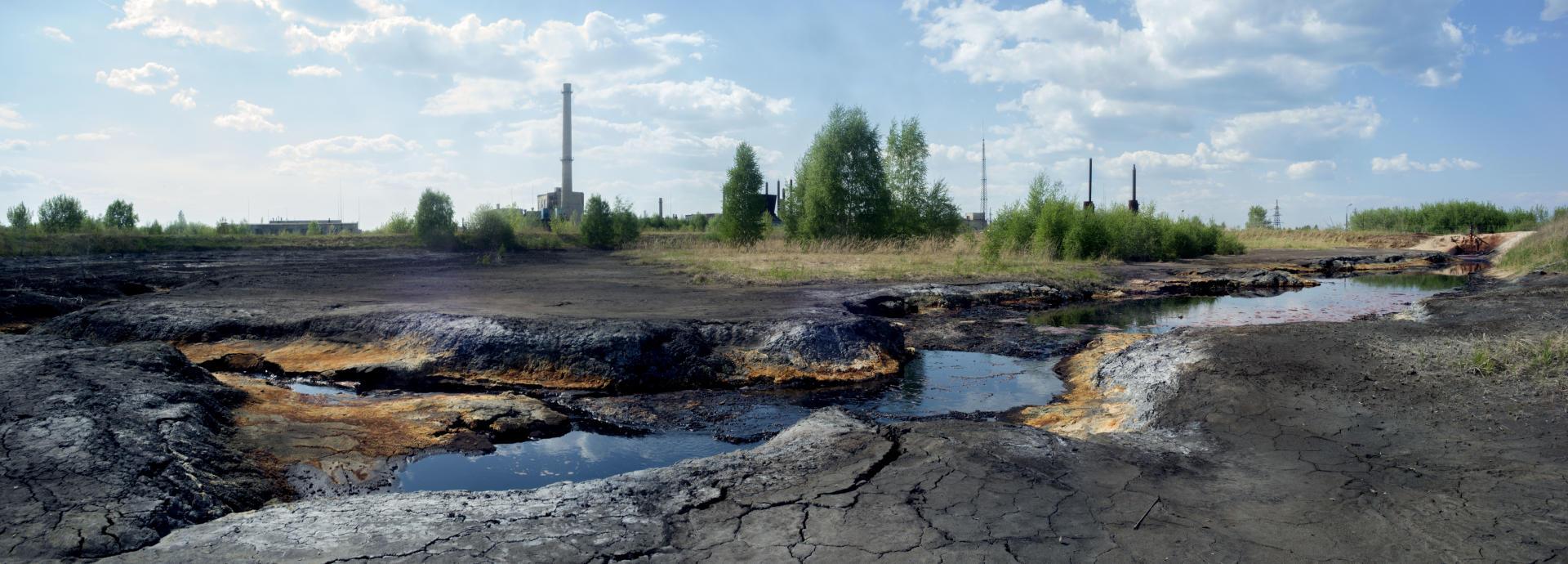 A Dzerjinsk, toutes les nappes phréatiques et les puits sont pollués jusqu'à 20 mètres de profondeur. Près de 300 000 tonnes de déchets chimiques ont été enfouies dans la campagne alentour.