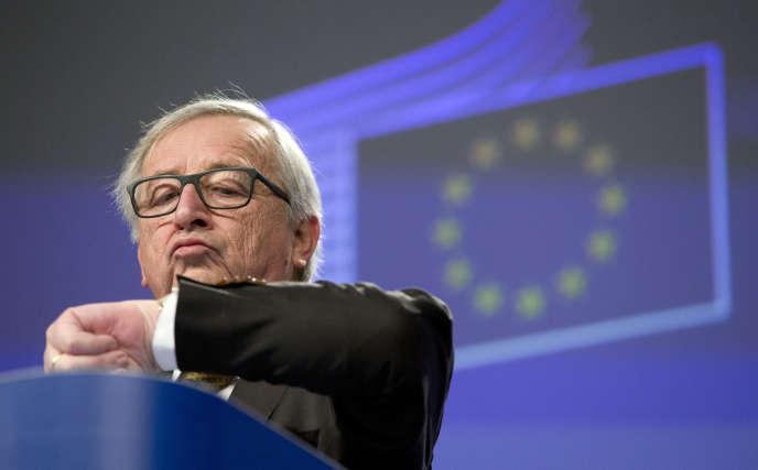 Le président de la Commission européenne, Jean-Claude Juncker, à Bruxelles, le 21 février 2018.