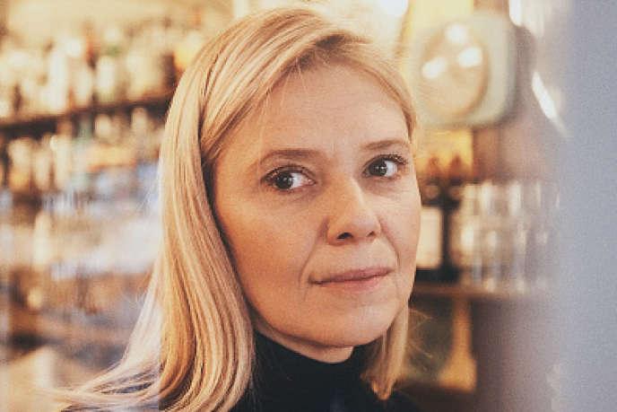 La journaliste Aude Lancelin, à Paris, en novembre 2016.