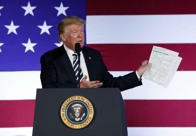 « Les marchés ne croient pas à une croissance supérieure à 3 %, comme le prétend l'administration Trump» (Le président américain, le 31 août).