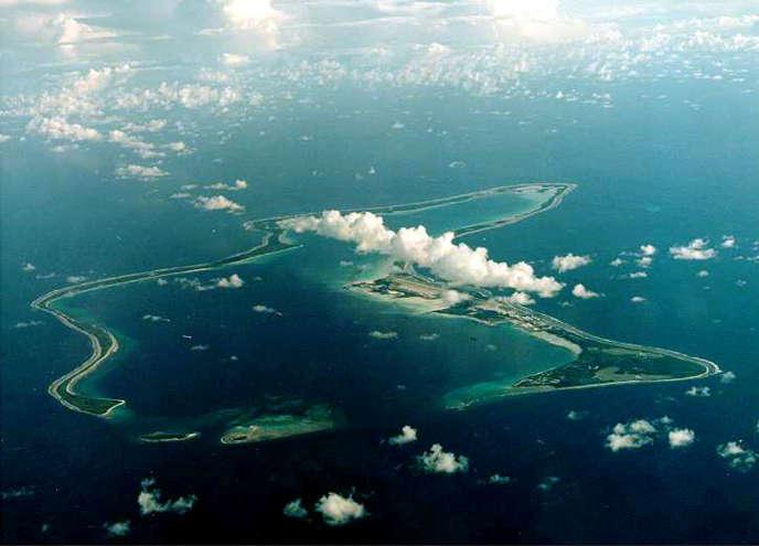 L'île de Diego Garcia, dans l'archipel des Chagos, abrite une base militaire américano-britannique.