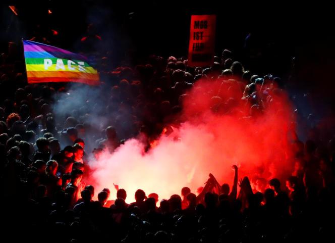 Cet événement avait pour but de faire en sorte« que les gens de Chemnitz ne se sentent pas seuls » face à l'extrême droite.