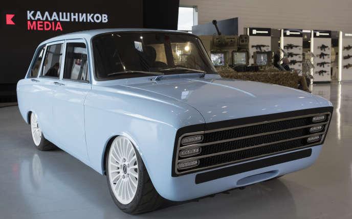 Dérivée d'un modèle soviétique de 1970, la CV-1 sera produite par la société... Kalachnikov.
