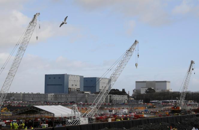 La centrale nucléaire Hinkley, en janvier 2018.