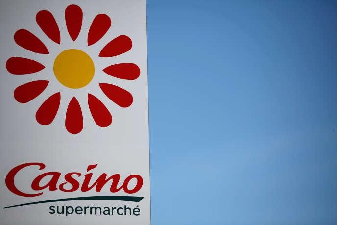 Un supermarché Casino, à Nantes, en juillet 2017.