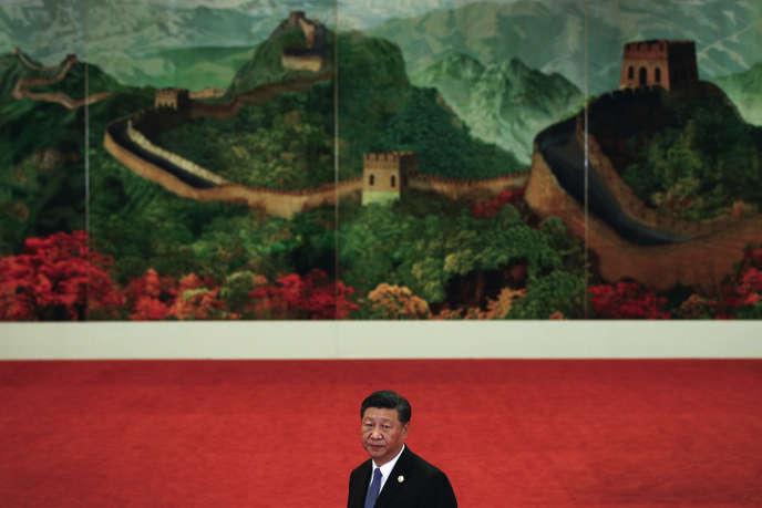 Xi Jinping au Forum de coopération Chine-Afrique (FOCAC) à Pékin, le 3 septembre 2018.